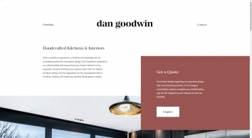 Dan Goodwin Handcrafted Kitchens & Interiors