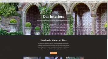 Dar Interiors Ð Specialists in quality handmade Moroccan tiles, furniture and lighting