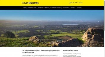 David Ricketts Co, Rhiwbina