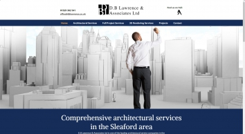 Architectural services, D.B Lawrence & Associates Ltd, Sleaford