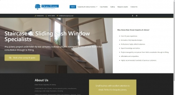 Dean House Carpentry & Joinery