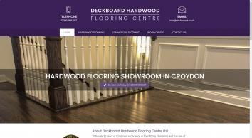 Deckboard Hardwood Flooring Centre in Croydon, the finest hardwood flooring