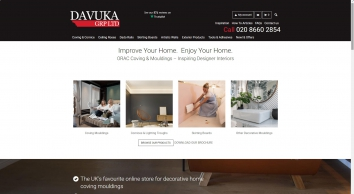 Davuka GRP Ltd - Decorative Coving, Cornice and Mouldings
