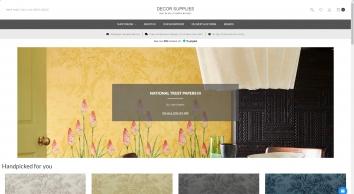 Designer Wallpaper, Wallcoverings   Decor Supplies