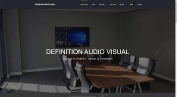 Definition Audio Visual