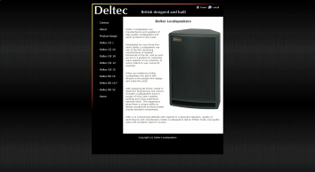 Deltec Loudspeakers and Audio Products