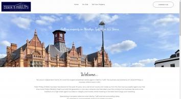 Derek B Phillips, Merthyr Tydfil