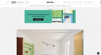 Home - DETAIL - Magazine of Architecture + Construction Details