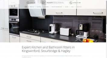 Unique kitchen designs by D.F Property Developments