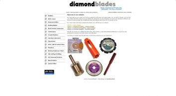 Diamond Blades, Diamond Cores and Drill Bits from Diamond Blades .co.uk
