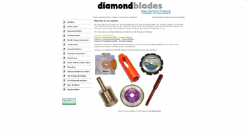 Diamond Blades, Diamond Cores and Drill Bits from Diamond Blades .co.uk