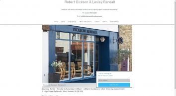 Antique shop | Petworth | Robert Dickson and Lesley Rendall