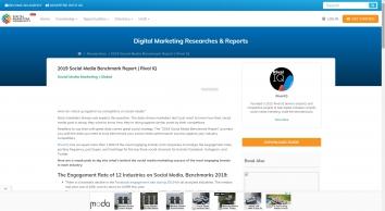 2019 Social Media Benchmark Report | Digital Marketing Community