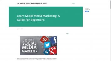 Learn Social Media Marketing: A Guide For Beginner's