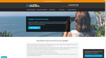 Gadget Travel Insurance | Direct Travel Insurance