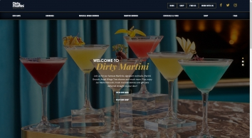 Cocktail Bars in London | Dirty Martini