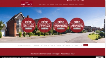 Distinct Property Consultants Estate and Letting Agents in Banbury