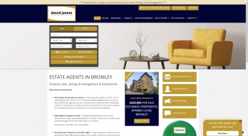 David James Property Sales Letting and Management, Bromley