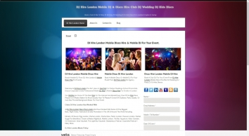 DJ Hire London Mobile DJ & Disco Hire Club DJ Wedding DJ Kids Disco