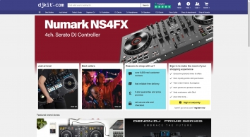 DJ Equipment Shop | DJ Gear & Disco Equipment - DJkit.com