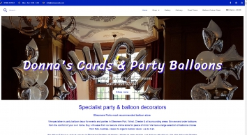Donna\'s Cards & Party Balloons