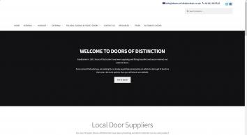 Doors of Distinction | Your local door supplier | 01322 667525