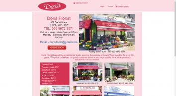 Welcome to Doris Florists, Tooting SW17 0LW Tel: 0208 672 3571