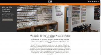 The Douglas Watson Studio - Handmade and Hand Painted Ceramic Tiles
