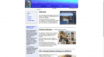 Antiques and Picture Framing in  Kettering