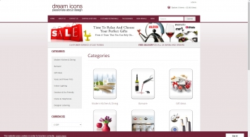 Dream Icons, Modern Contemporary Home Accessories and Gifts