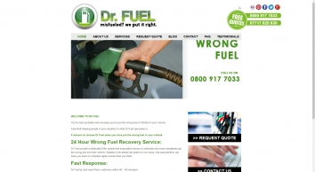 Doctor Fuel - Wrong Fuel in Car Recovery Services
