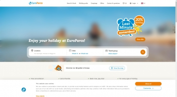 Droomparken, holiday parks with luxury to-buy and to-let accommodations around the Netherlands