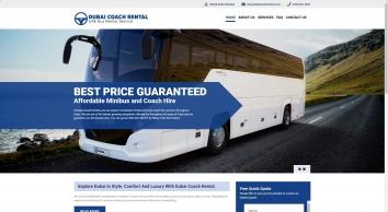 Welcome To Dubai Coach Rental And Bus Rental.