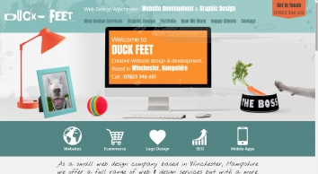 Duck Feet web designers