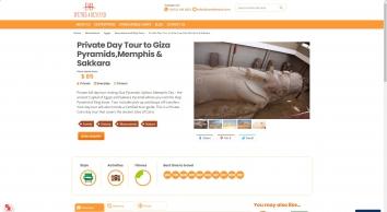 Day Tour package to Giza Pyramids,Memphis, and Sakkara