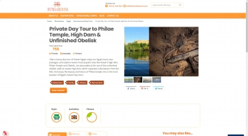 Luxury day tour of Aswan  tour to Philae temple and the Obelisk