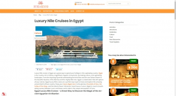 Luxury Nile Cruises in Egypt | Dunes & Beyond