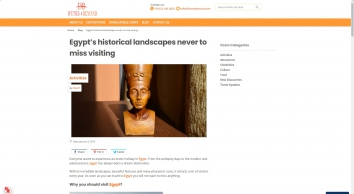 Egypt's historical landscapes never to miss visiting | Dunes & Beyond