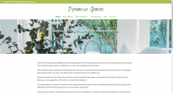 Dynamic Spaces