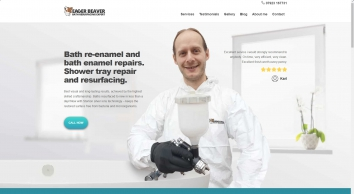 Bath resurfacing UK bath re-enamelling service Bristol | EagerBeaver