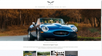 Welcome to Eagle - Eagle E-Types, The Eagle Speedster and the Low Drag GT
