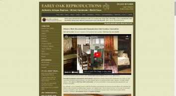 Early Oak Reproductions