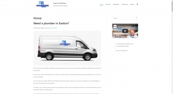 Easton Plumbing   Accurate Plumber Easton