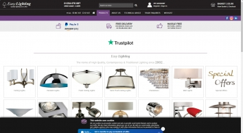Easy Lighting - Light fittings, ceiling lights, wall lights - Welcome