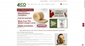 Eco Building Resource - Greater Toronto\'s only green building supply source. We serve Aurora, Newmarket, Markham, Barrie, Toronto, Mississauga, Brampton Durham and Eastern Canada...