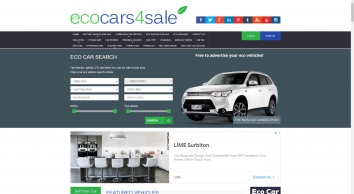 Used Electric Cars, Eco Cars For Sale & Plug-in Hybrids UK
