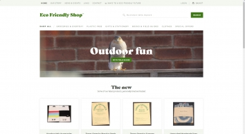 Eco Friendly Shop - Ethical, Fair Trade & Organic Products