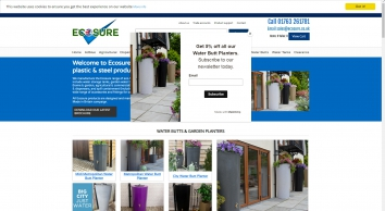 UK manufacturer of garden planters and water butts