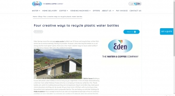 Four creative ways to recycle plastic water bottles   Eden Springs