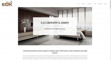 London Carpentry and Bespoke Fitted Furniture | E.D.K Carpentry & Joinery | Phone: 020 8614 0725